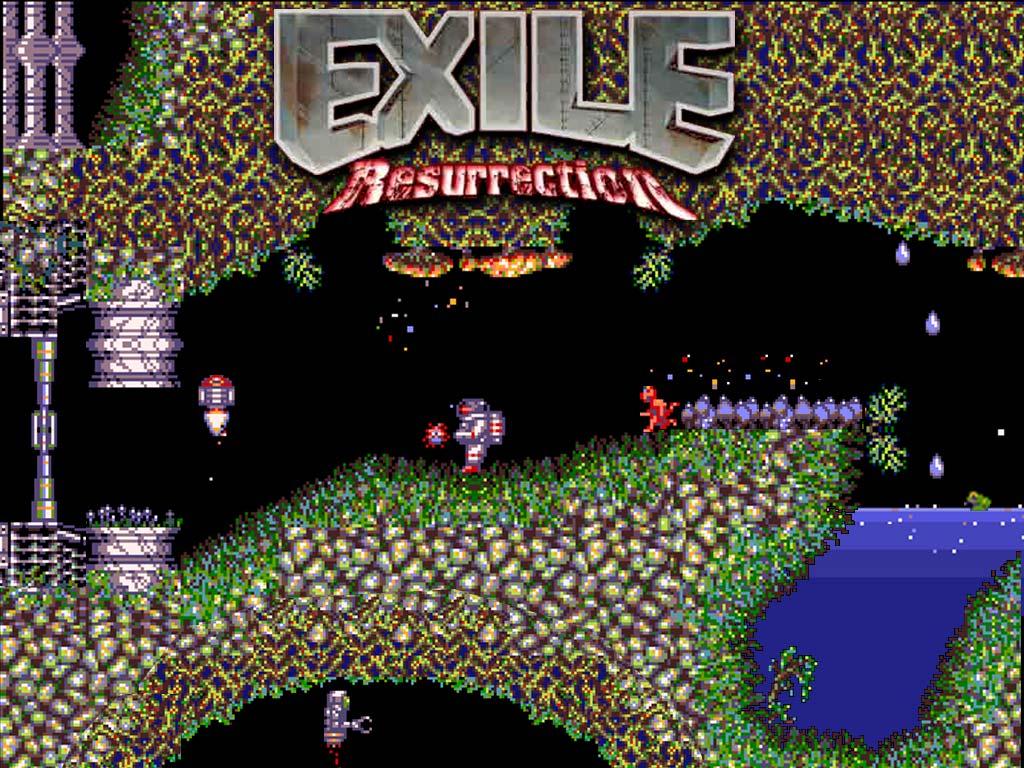 Exile Resurrection Wallpaper 1024x768