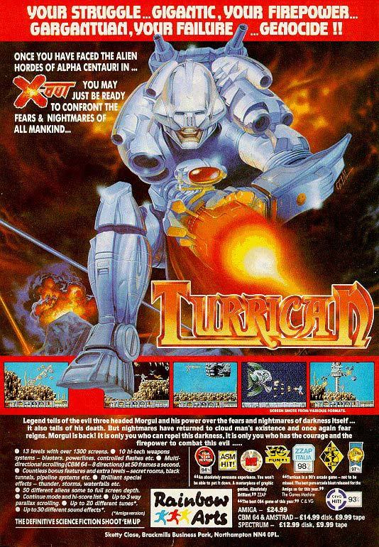 Turrican 1 Ad