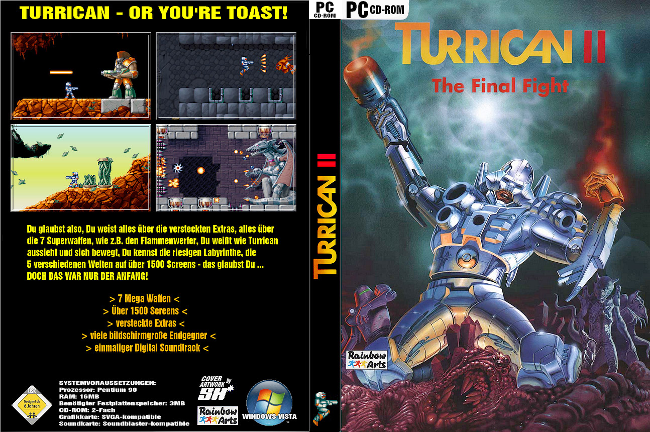 turrican at the games convention 2006 complete jpg of turrican